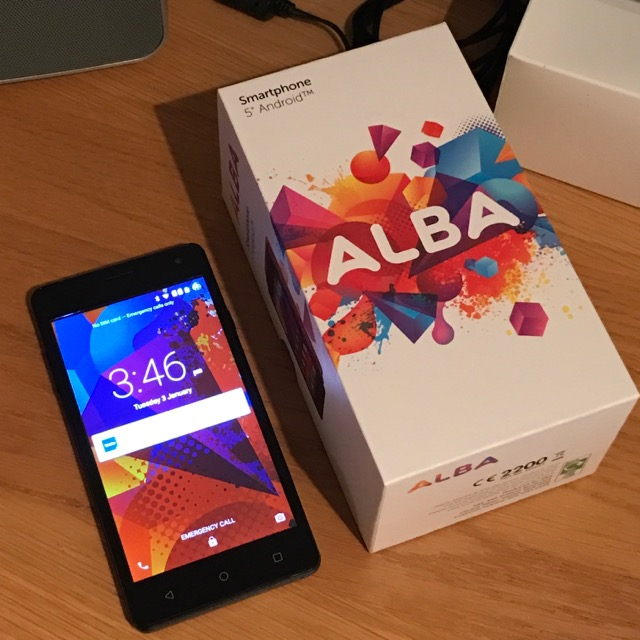 My new Alba phone